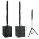 mini sound system 5.1 column line array speaker