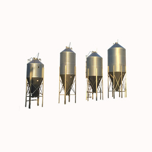 2018 New type stainless steel grain silo