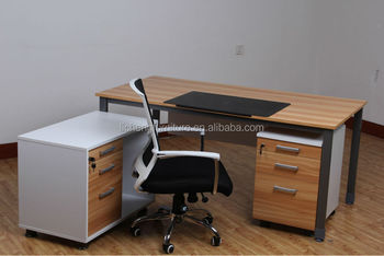wood office cabinet. wooden office furnitureoffice executive table factory with side cabinet metal legs wood