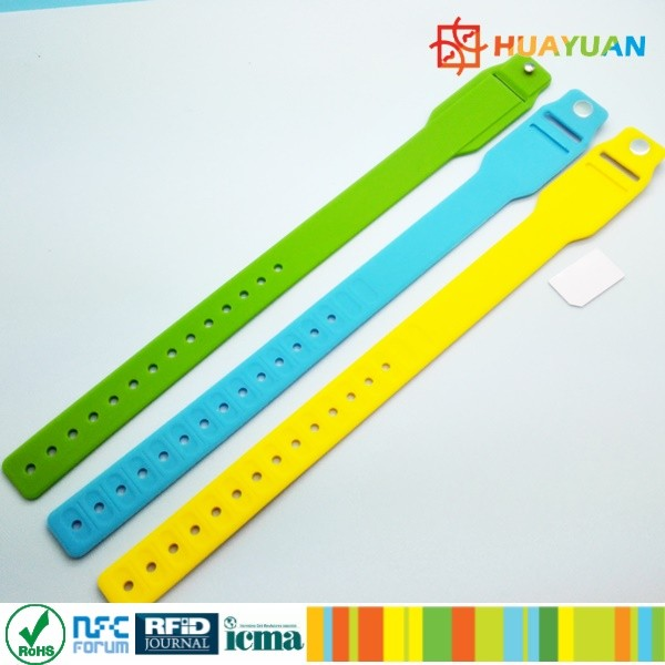 WS-28 Custom Silicone wristband with mini insert card
