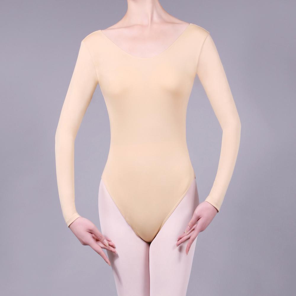 Nude Colored Leotards 35