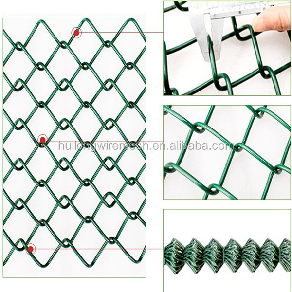 High safety factor used chain link fence post barbed wire for sale factory