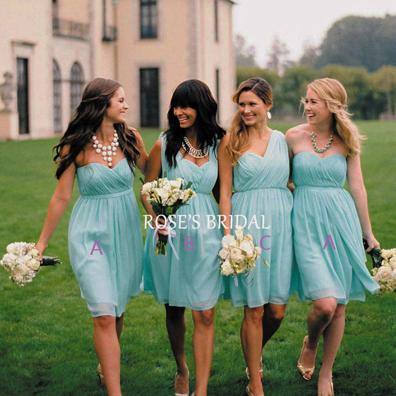 Western Style Bridesmaid Dresses 62
