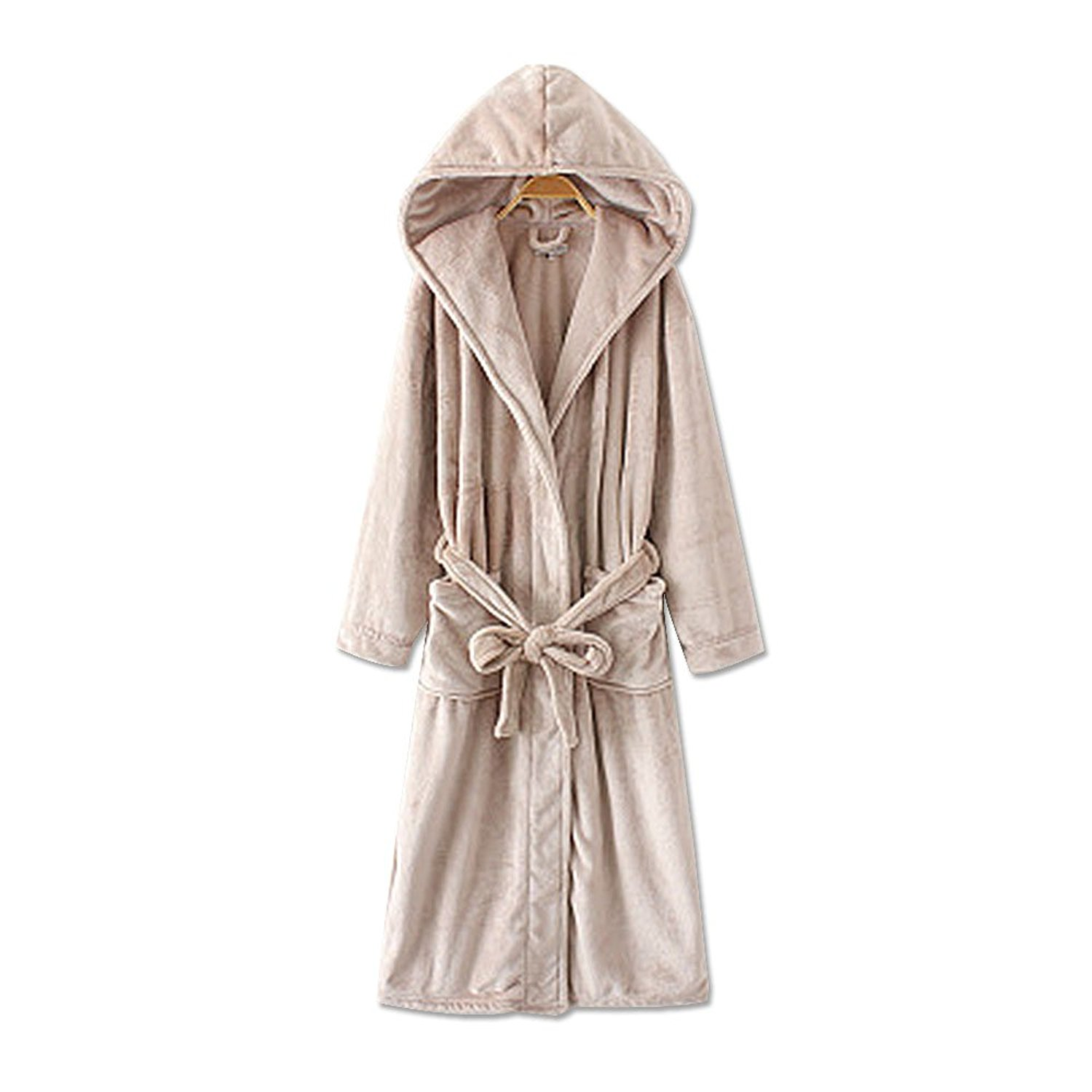5ae2d1cb5c Get Quotations · Robes For Women with Hood Plush Soft Warm Fleece Bathrobe  from WSSM