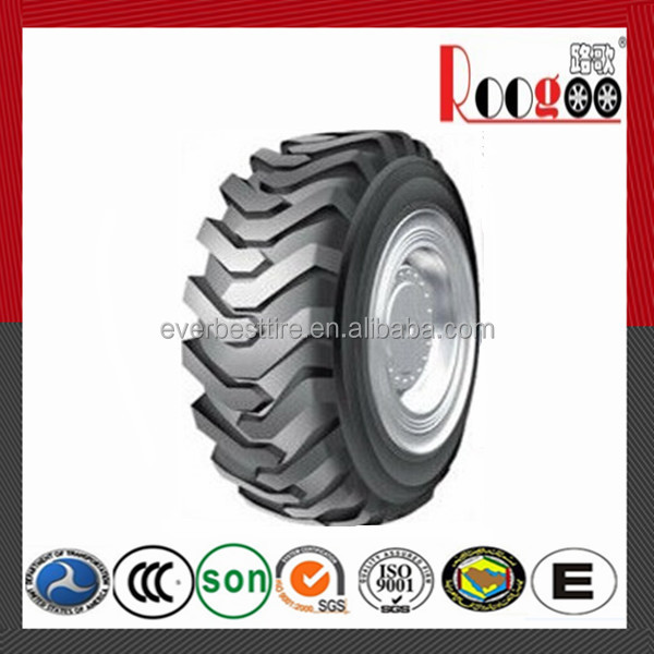 Roogoo brand agricultural equipment manufacturing wholesale bias agricultural farm tire 12.4-28