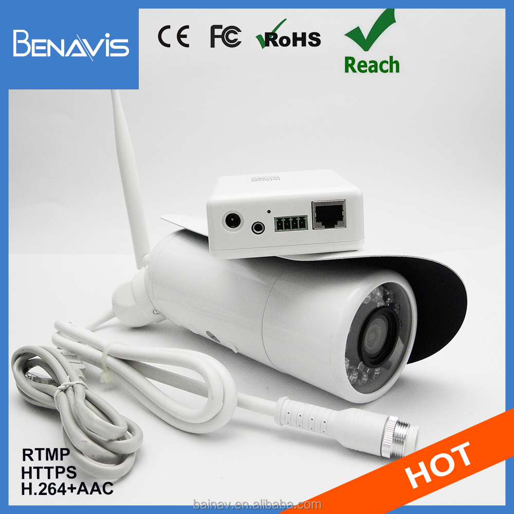 Ip66 Tiny Connection Wifi Viewrframe Mode Ip Camera Wireless 12V