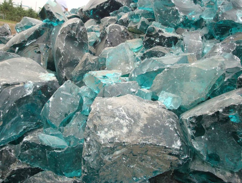 Recycled Landscape Glass Rocks Buy Glass Rocks Recycled