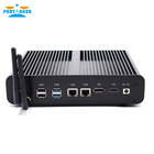 Partaker B13 Mini PC Core i7 7560U Double LAN 2 * DDR4 Ram DP Barebones Mini Ordinateur 4 K HD 8USB Mini pc