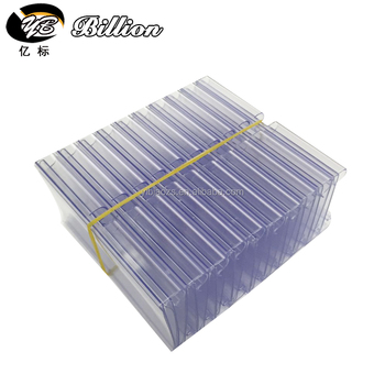 china factory wholesale plastic price tags holder price display holder plastic rack card holders - Rack Card Holders