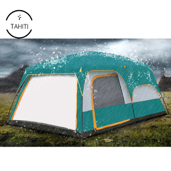 Outdoor Camping 8 Person 2 Room Waterproof Family Large Automatic Instant Tent