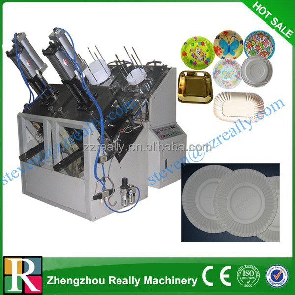 Automatic Disposable Plates Making Machine/paper Plate Production Machine - Buy Paper Plate Production MachineMachine To Make Disposable Plates Disposable ... & Automatic Disposable Plates Making Machine/paper Plate Production ...