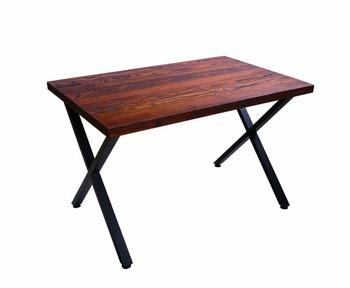 Iron Coffee Steel Wooden Side Metal Dining Table Buy Metal Dining - Steel and wood side table