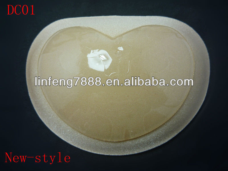 2013 Year Wholesale Hot-selling Fabric Self-adhesive Bra pad