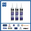 weather-proof silicone sealant clear coat for silicone sealant adhesive