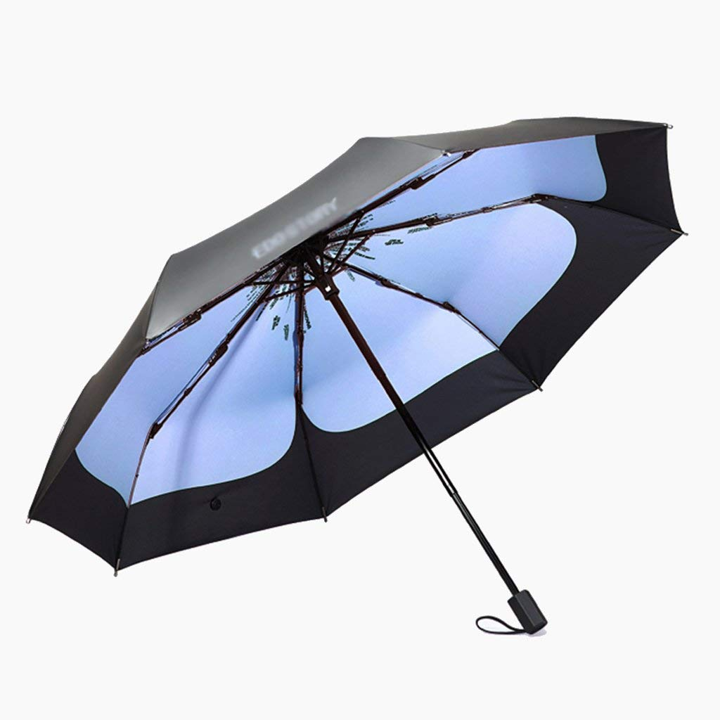 ultralight umbrella 96x52cm portable Kaxima Sun umbrella folding umbrella three folding umbrella UV protection sun umbrella