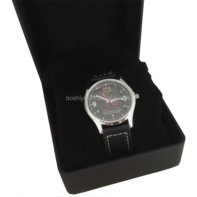 Can Custom BSY Watch Fashion Stainless steel Japan movment quartz Wristwatch Luminous function