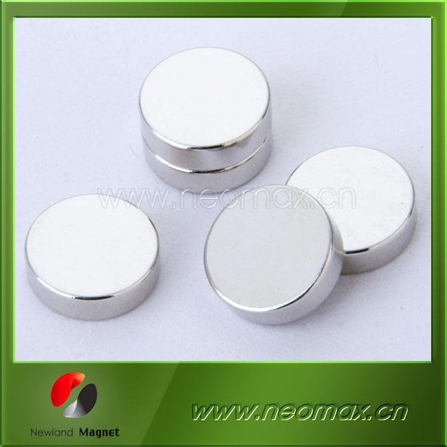 professional ndfeb round disc shape neodymium magnet product wholesale