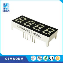 Professional manufacuturer FND customized 0.4 inch 4 digit led 7 segment display for led clock show parts
