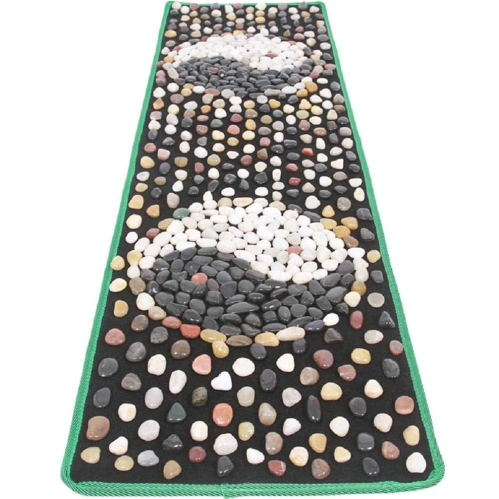 WE&ZHE Natural Stone Pebble Foot Massage Pad Foot Massage Foot Pad Gravel Blanket Pressure Plate (40/150CM)