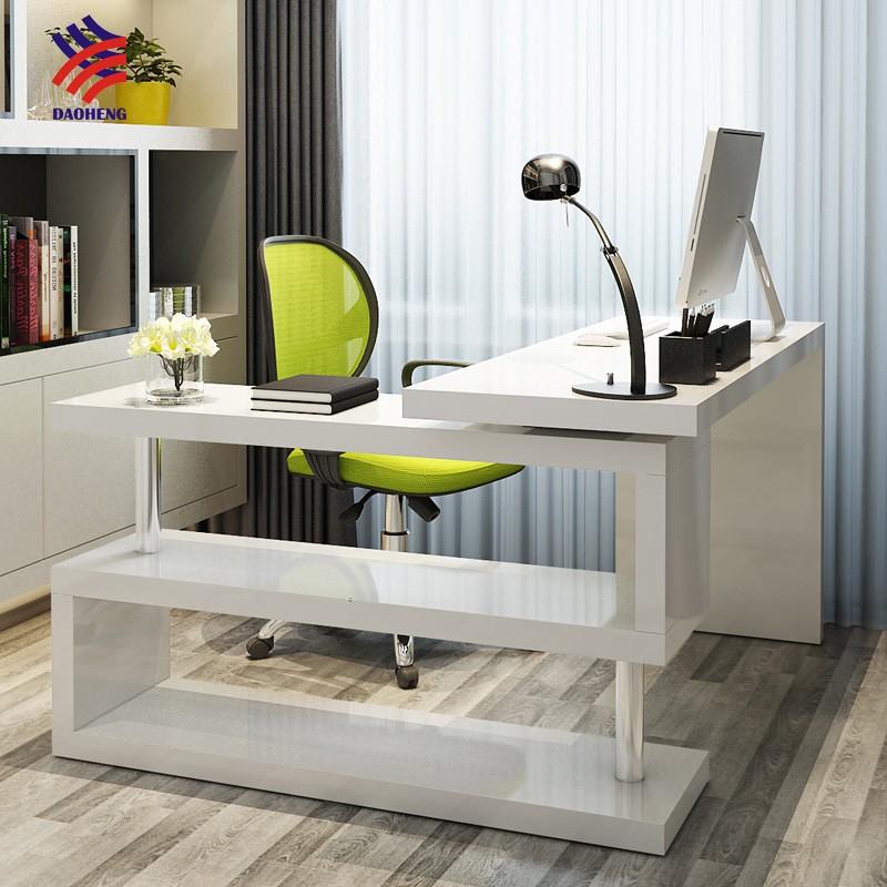 Escritorio esquina escritorio forma l comifort mesa de for Mesa plegable groupon