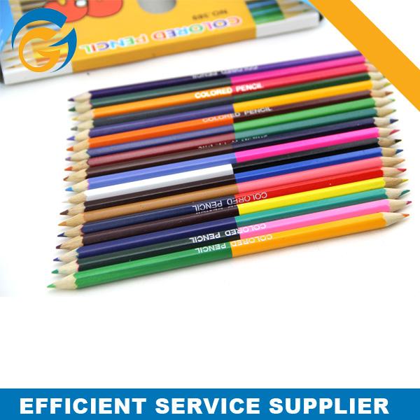 2 Side Custom Color Pencils Bulk Packing For Children #2 Pencil ...