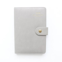 Domikee симпатичный корейский Органайзер в твердой обложке, кожаный Органайзер, записные книжки, дневник для студентов, детский подарок, канце...(Китай)
