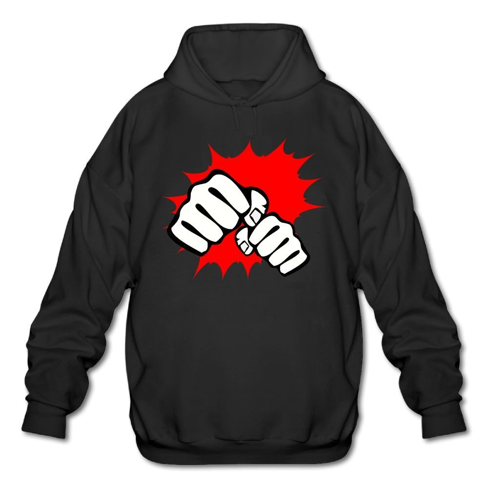 Mens Cool Boxing Fight Pub Sweatshirt Fashion Sweatshirt Stylish For Outdoor & Home