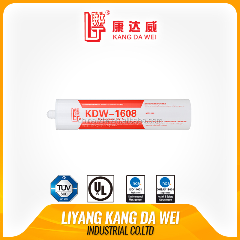 RTV white conductive paint cement liquid silicone adhesive fireproof paint