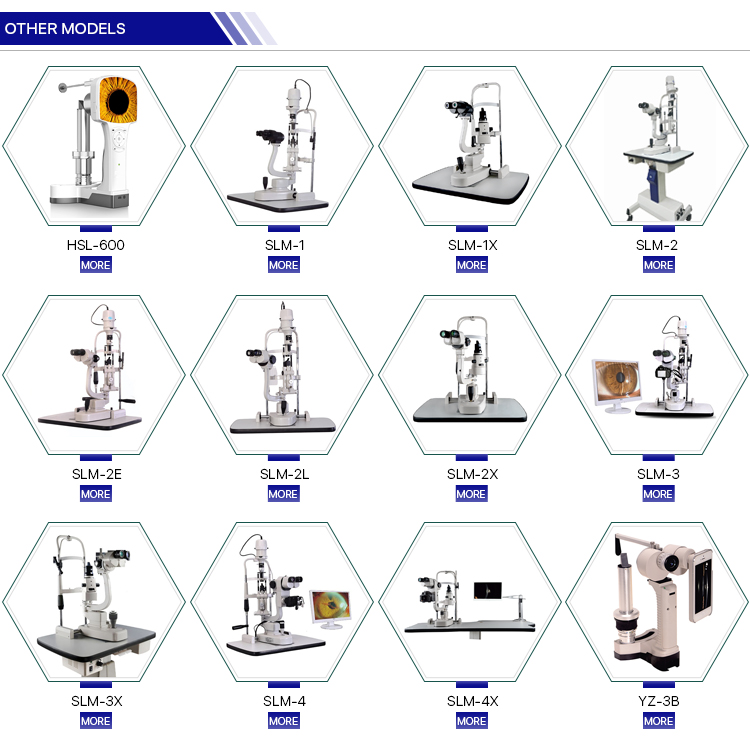 SLM-3 china top quality ophthalmic equipment Slit lamp