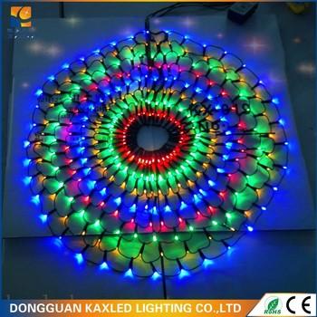 geleid vakantie decoratie kerst led verlichting van kleur veranderen net gaas netto lampen met ce en