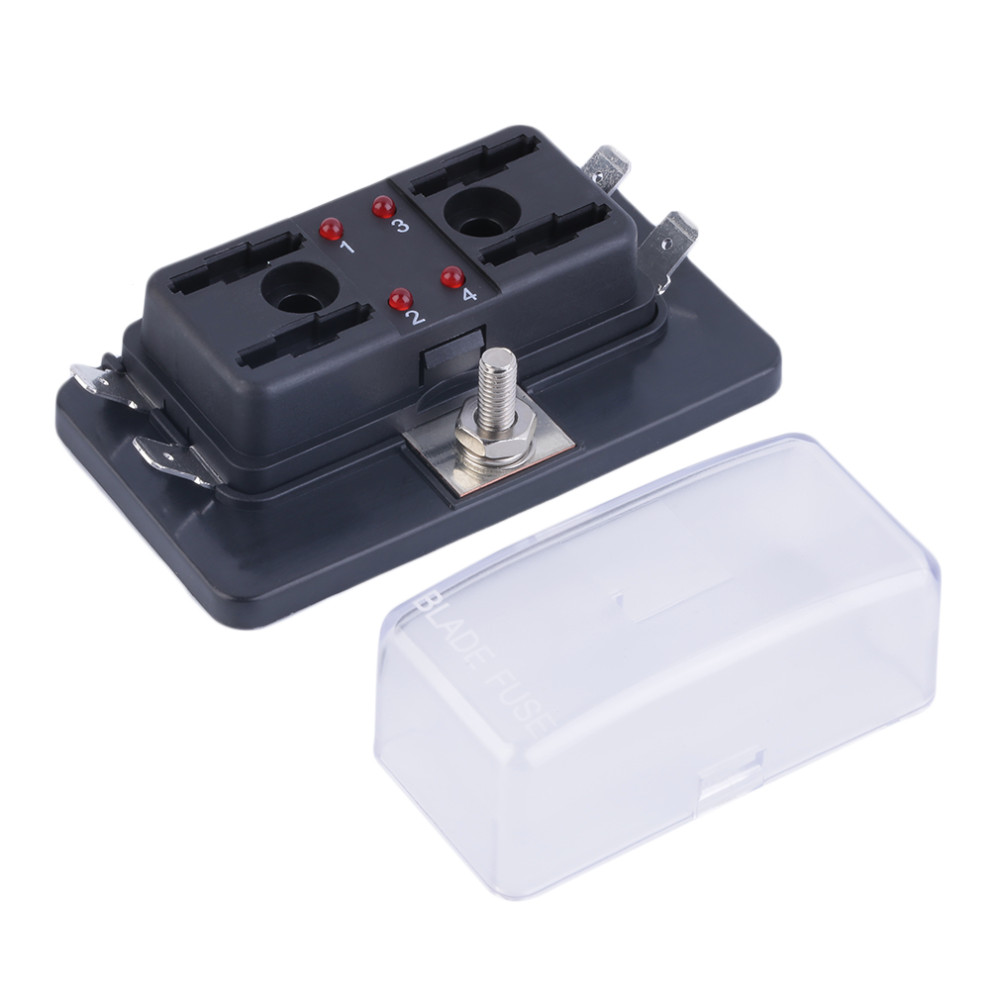 10 Gang Marine Boat Rv Car Circuit Standard Ato Atc Blade Fuse Holder Box -  Buy 12v Fuse Box,Universal Fuse Panel,Atc Fuse Block Product on Alibaba.com