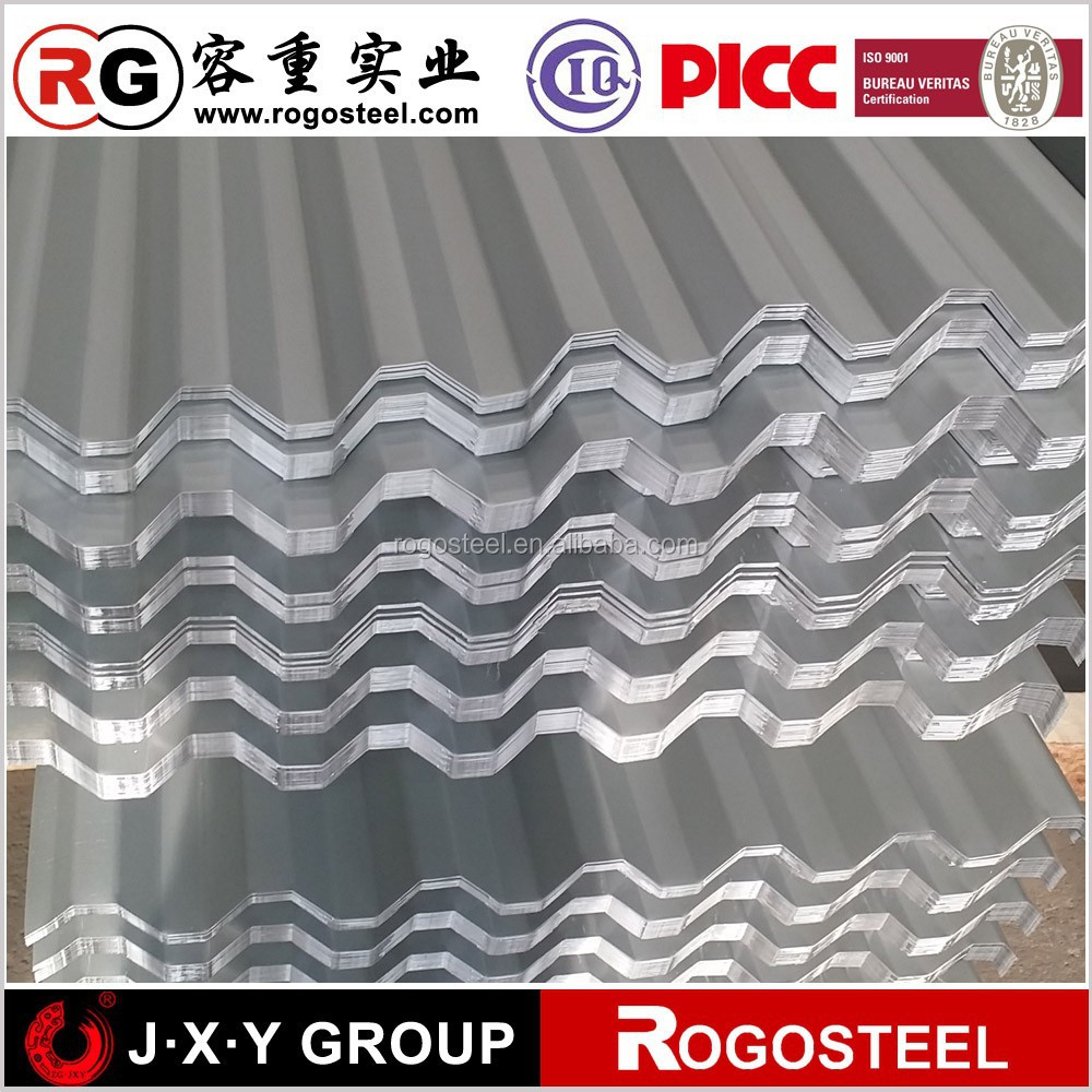 aluminium alloy ingot adc12 corrugated sheet with RAL from China