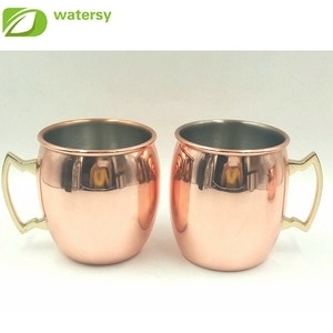 hot selling Stainless Steel Copper Beer Mug & Moscow Mule Copper Mug
