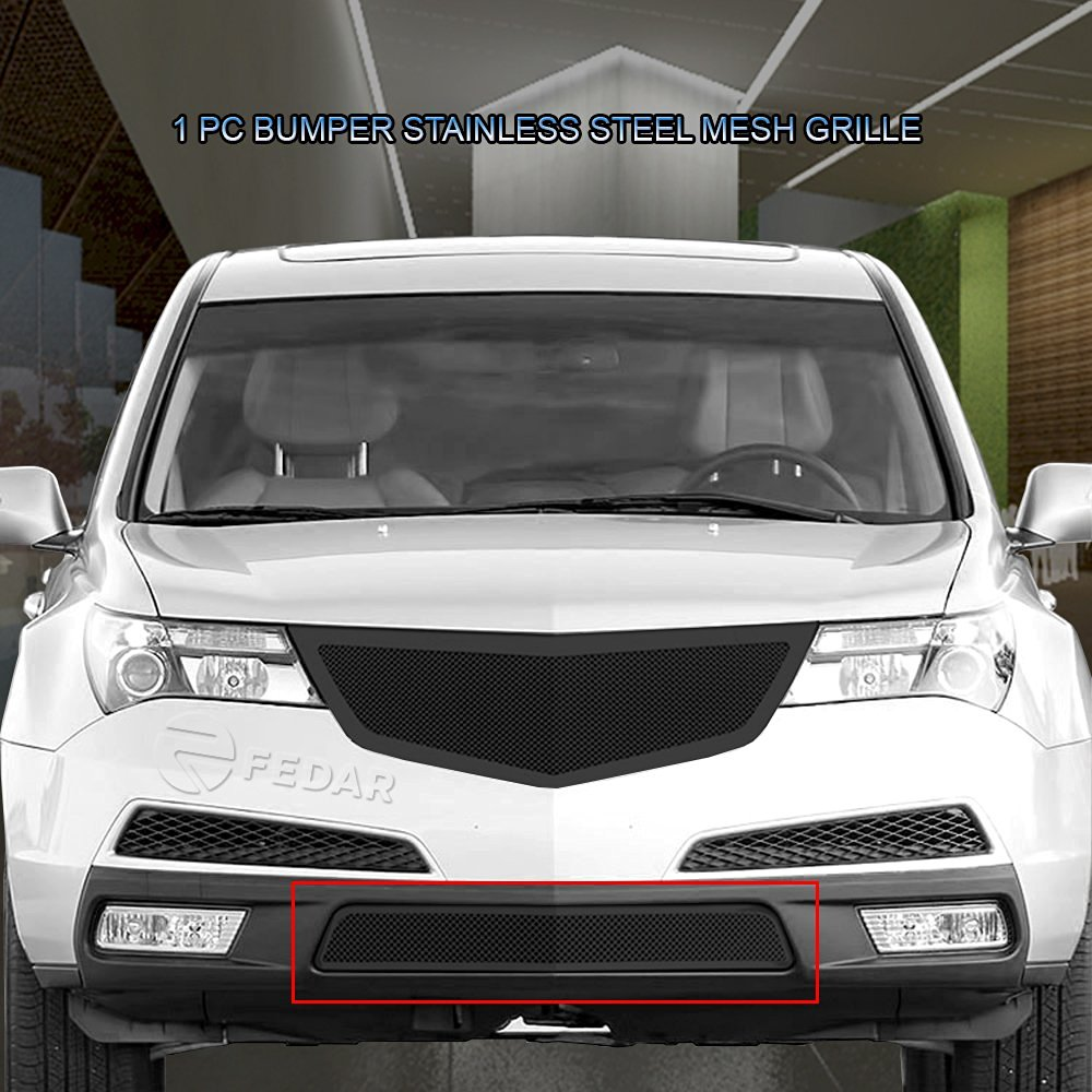 Fedar Lower Bumper Wire Mesh Grille for 2010-2013 Acura MDX