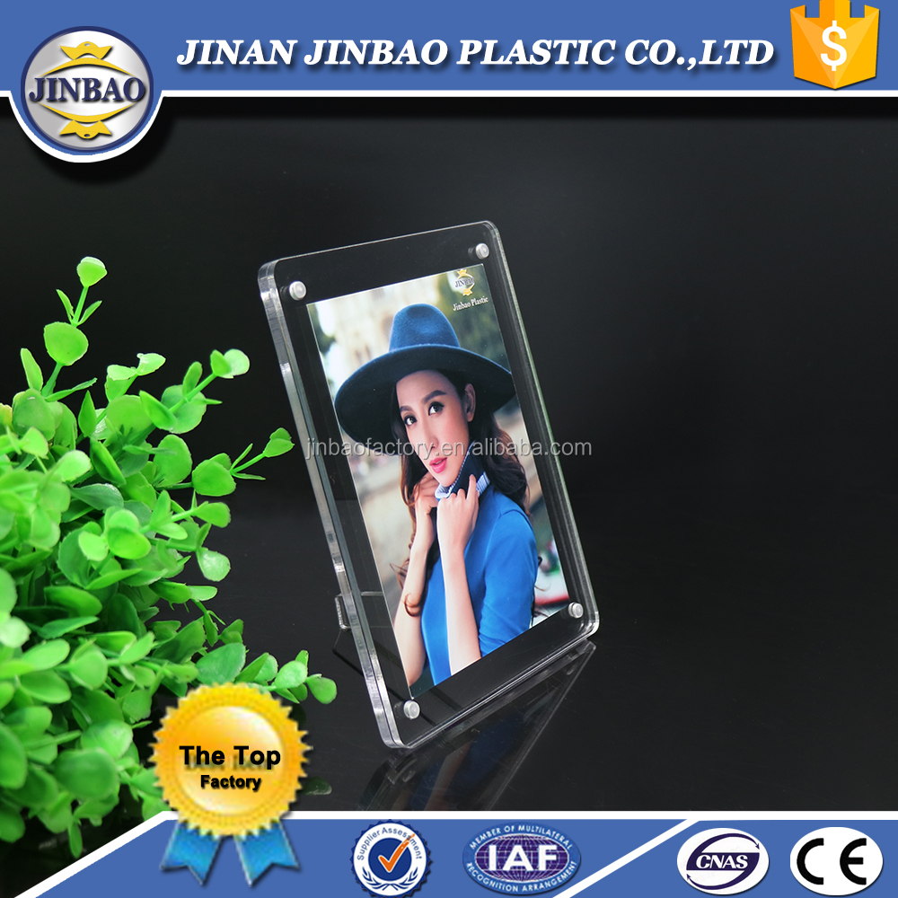 jinbao 2 sided acrylic 2x2 16x20 photo picture frame