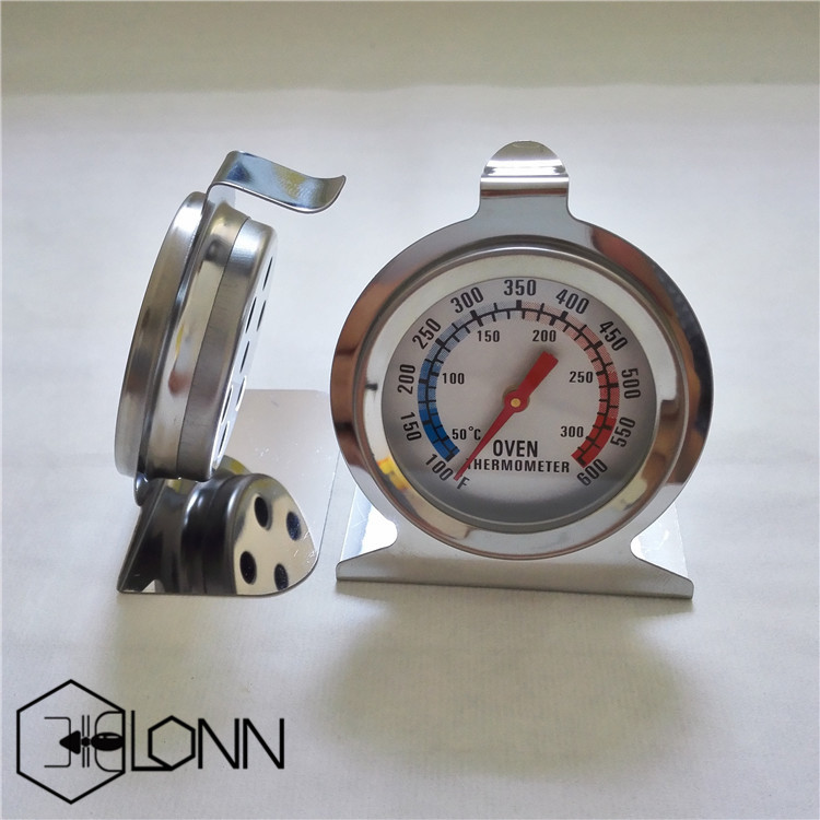 LBT-1 dial pocket round bimetal thermometer for oven freezer