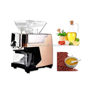 HJ-P09 home mini small olive oil press machine oil extraction machine cold press oil machine