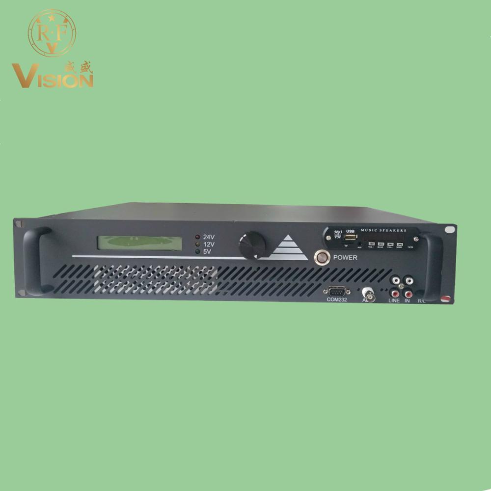500w  fm transmitter cover 15km radius campus broadcast   88-108Mhz Transmisor de FM