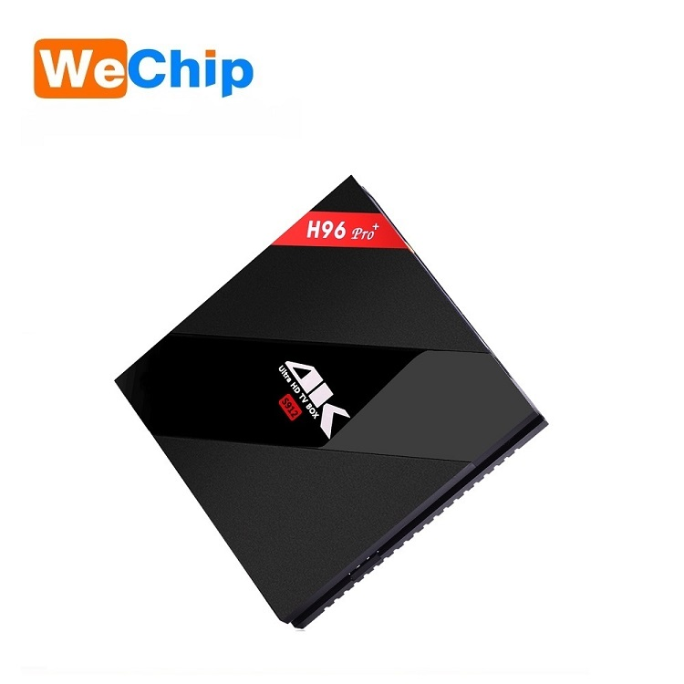 Wechip Android 7.1 Smart TV Box H96 PRO plus Amlogic S912 top set box 3G 16G android tv box