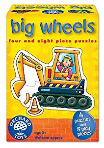 Orchard Toys Big Wheels by Orchard Toys