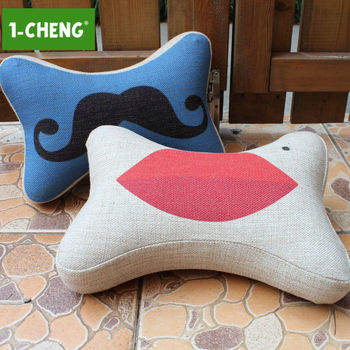 Creative Sexy Pattern Car Seat Neck Pillow Memory Foam Travel Support