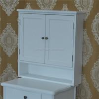 French bathroom vanity cabinet white wooden under sink bathroom storage cabinet cupboard