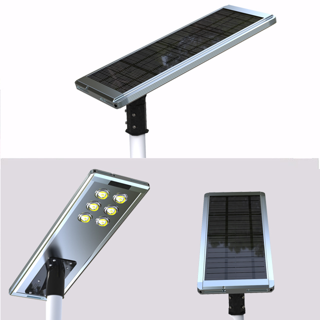 40w 60w 80w 100w Aluminum Solar Street Led Light All In One Australia Motion Sensor Rotatable Design