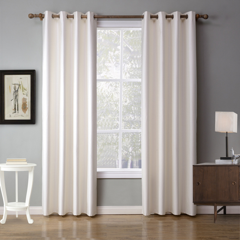 living room curtain modern fabrics for cheap curtains cortinas decorativas cortinas de polyester white thermal blackout curtains