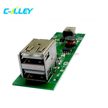 dual usb mobile power bank board battery charger pcb for phone