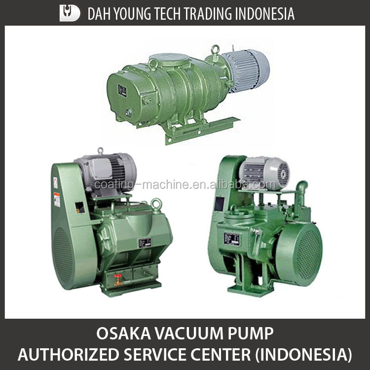 Osaka Vacuum Pump Spare Parts and Indonesia Authorized Service Center