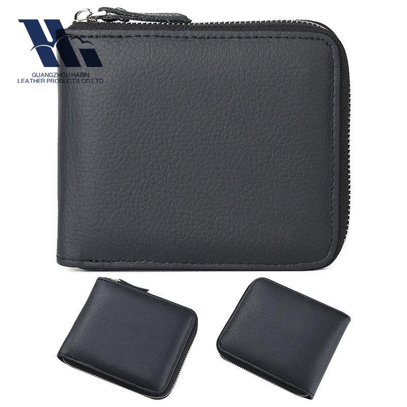 Full G Rainหนังผู้ถือบัตรเครดิตRFIDปาล์มกระเป๋าสตางค์กระเป๋าซิปกระเป๋าสตางค์