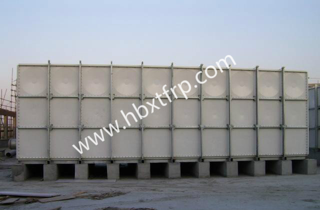 GRP SMC Panel sectional water tank