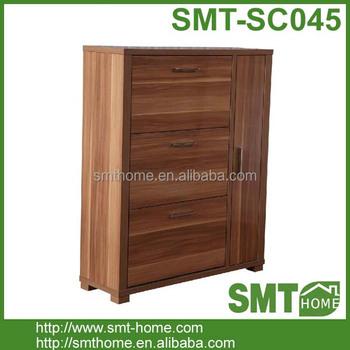 Modern Outside Wood Shoe Storage Cabinet DIY Shoe Rack Design