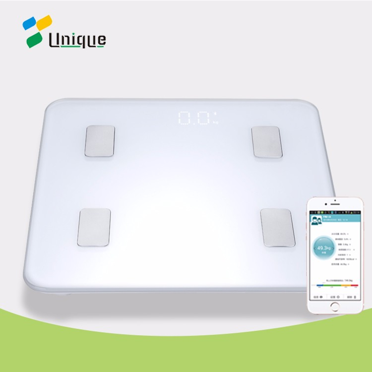 Health Assessment Measures Weight Digital Components CE Bluetooth Smart Weighing Body Composition Monitor Scales